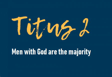 Men with God are the majority