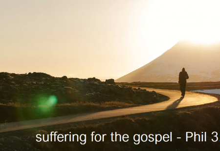 Suffering for the gospel